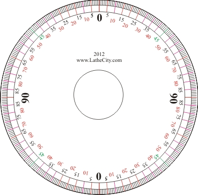Displaying (19) Gallery Images For Protractor Template Pdf...